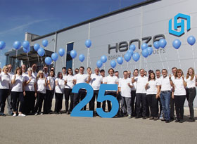Team Henze 25 Jahre Boron Nitride Products