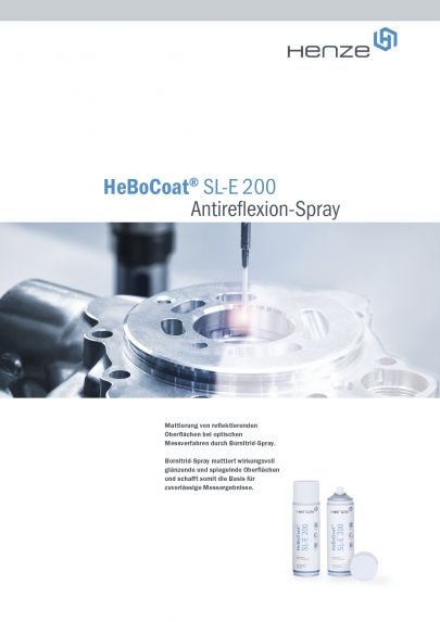Antireflexions Spray HeBoCoat SL-E 200